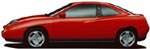 Fiat Coupe 4 Cylinder Turbo Side