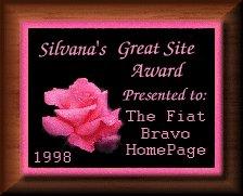 Silvana's Great Site Award